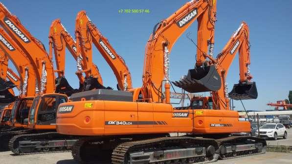 Экскаваторы гусеничные Doosan DX340 LC новые в наличии!