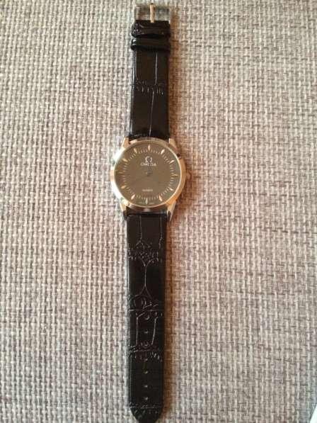 Часы Омега quartz swiss новые в Одинцово