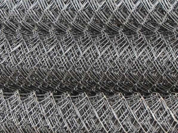 Сетка рабица в рулонах оцинкованная в Владимире фото 3
