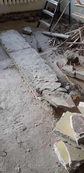 Строительный мусор - гипсолитовые и бетонные плиты