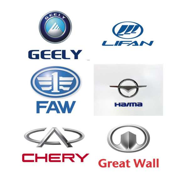 Запчасти для авто CHERY, FAW, GEELY, GREAT WALL, HAIMA