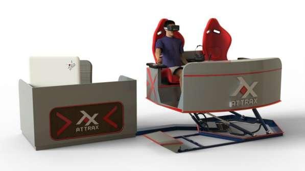 VR Симулятор в виртуальном шлеме - новый вид бизнеса