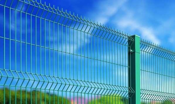 3Д забор. Еврозабор. 1.73х2.5 м. d3,5 мм. Порошков. окр.