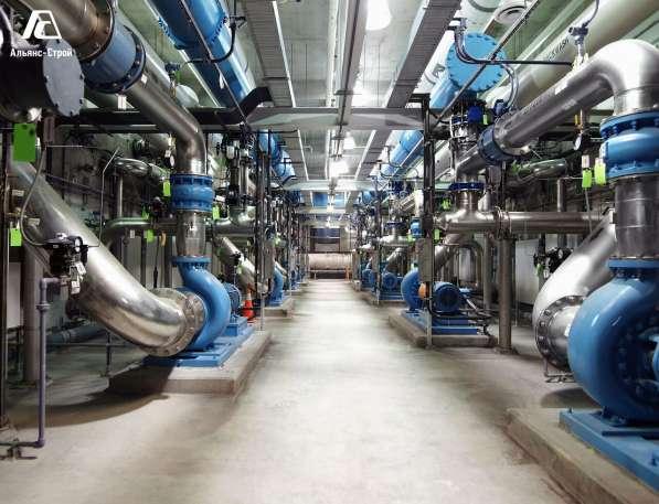 Монтаж промышленных канализаций