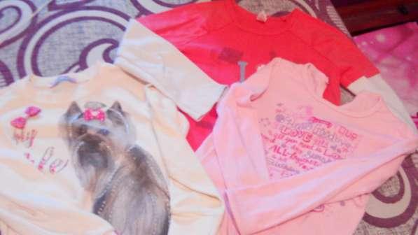 Вещи для девочки рост 110-116