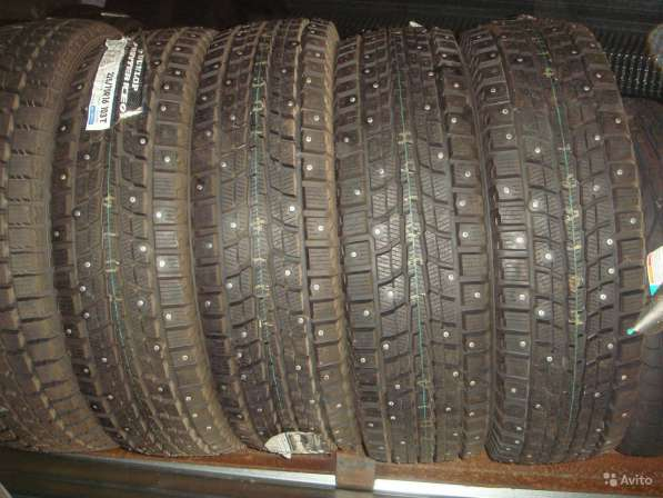 Новые шипы Dunlop 195/65 R15 Winter ICE01