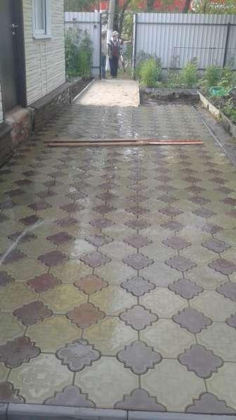 Тротуарная плитка в Егорьевске фото 5