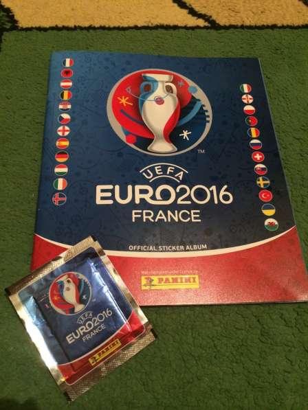 Коллекция наклеек Panini UEFA EURO 2016 (альбом+блок)
