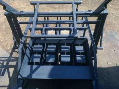станок для изготовления блоков ВСШ