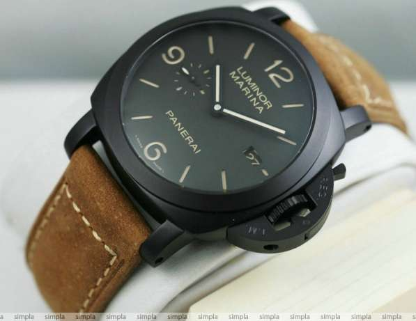 Panerai luminor элегантные часы