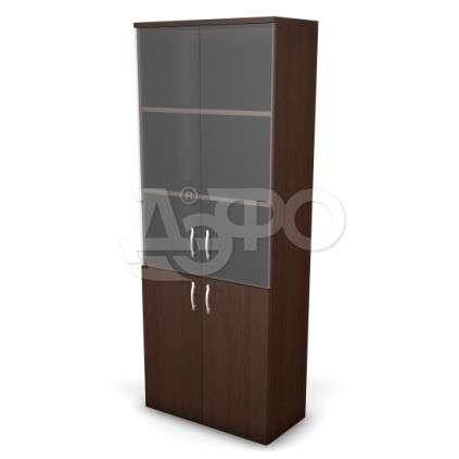 Шкафы офисные производства Дэфо с 5 полками