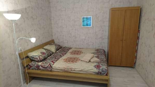 Двухкомнатная квартира у метро Приморская в Санкт-Петербурге фото 4