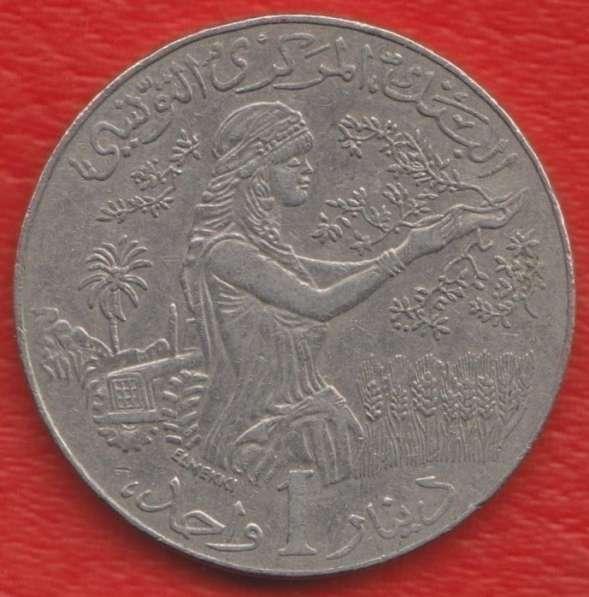 Тунис 1 динар 2011 г.