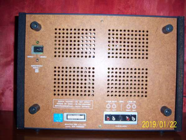 Магнитофон AKAI GX4000D бобинник, катушечный, Япония,220v в Екатеринбурге фото 8