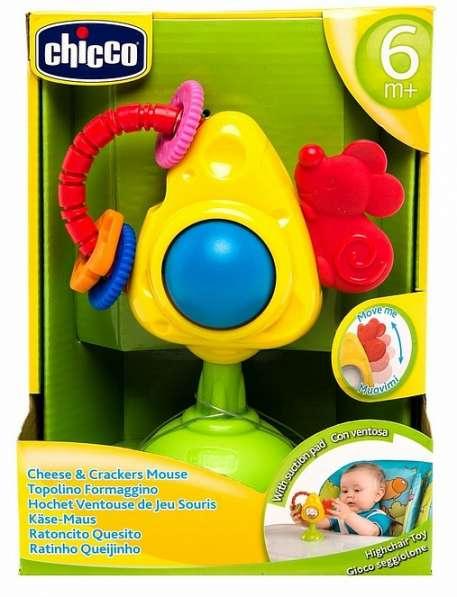 Игрушка для стульчика мышка С сыром И крекерами CH