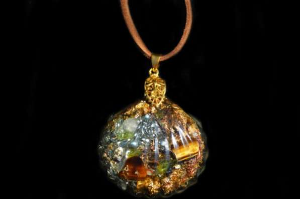 Эзотерические украшения из оргонита