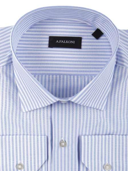 Рубашка A. FALKONI. DIPLOMAT. 100% COTTON. 5XXL