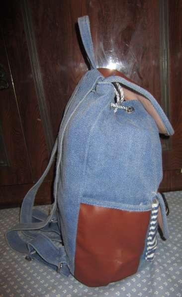 Оригинальный рюкзак ручной работы в Калининграде фото 4