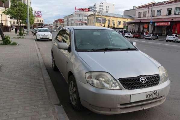Продажа Toyota Corolla серый седан