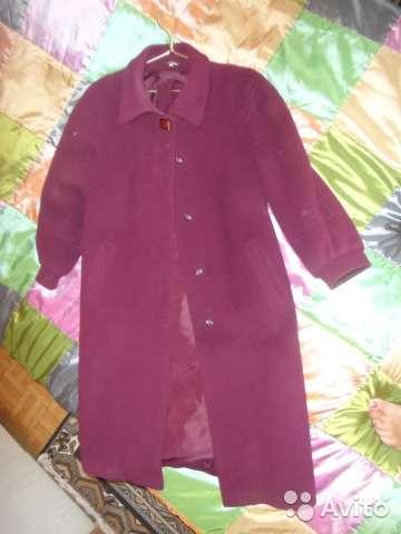 Продаю пальто драп-велюровое