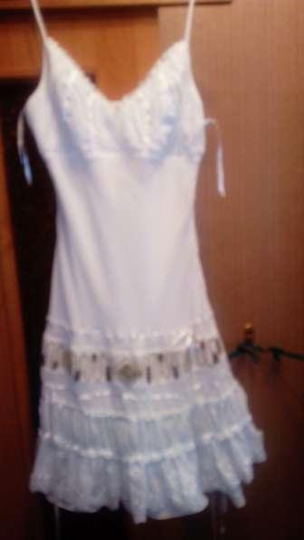 Платье белое летние