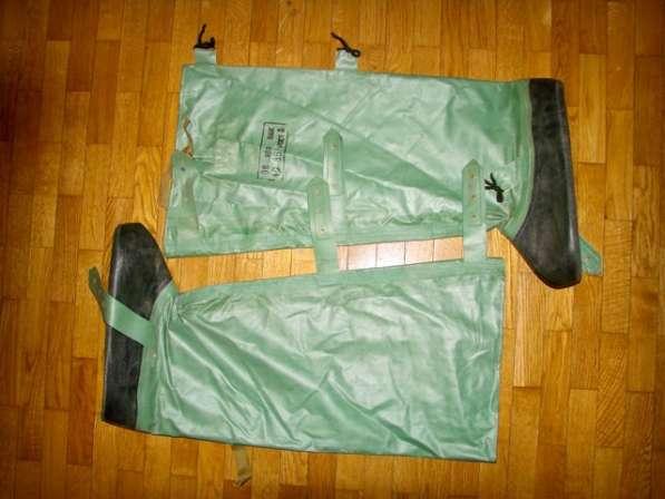 Защитные чулки от костюмов ОЗК с хранения. Приборы впхр, дп