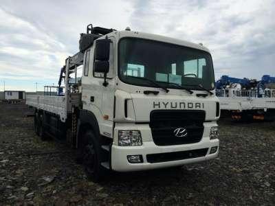 грузовой автомобиль HYUNDAI HD250 Манипулятор HIAB
