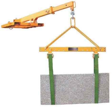 SPREADER BAR M1 Устройство для перемещения каменных плит (траверса) М1