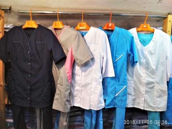 Медицинские халаты, костюмы, костюмы шеф-повара в Санкт-Петербурге фото 6