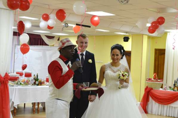 Ведущий на свадьбу Дамасен Африканович