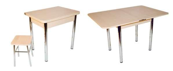 Обеденные столы оптом, напрямую от производителя. Хром