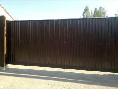 Откатные ворота 4,0 *2,0 м