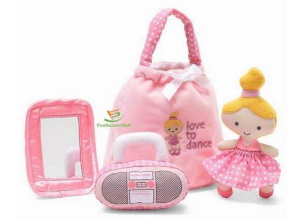 Розовые мягкие игрушки для девочки (цена за набор)