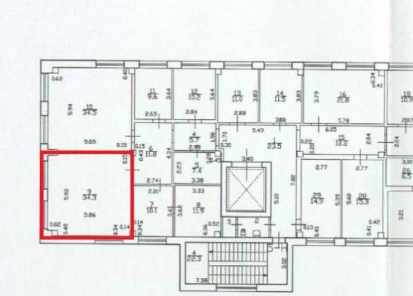Сдам Офис 34. 3 м2