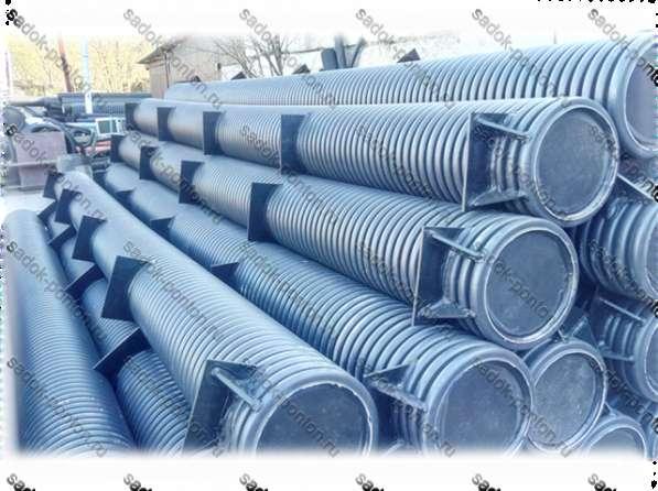 Трубные понтоны 315 длиной от 1 до 6 метров с крепежом