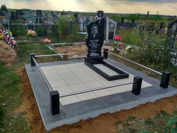 Благоустройство могил, захоронений в фото 3
