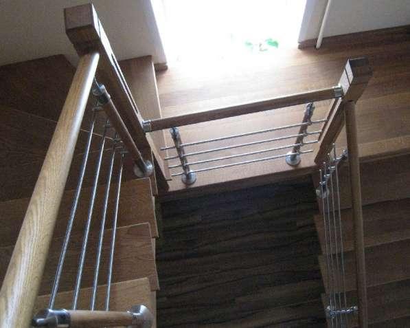 Лестница из дуба в Воронеже фото 4
