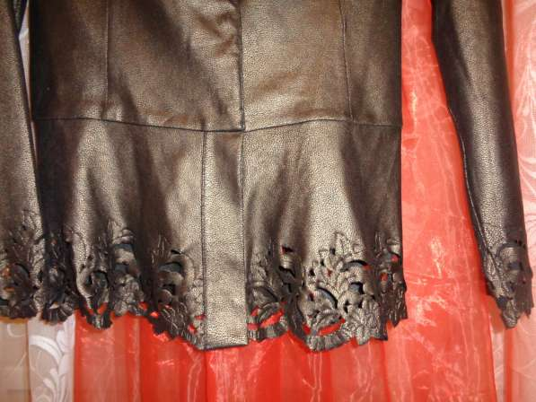 Пиджак под кожу р 44-46 в Гатчине фото 3