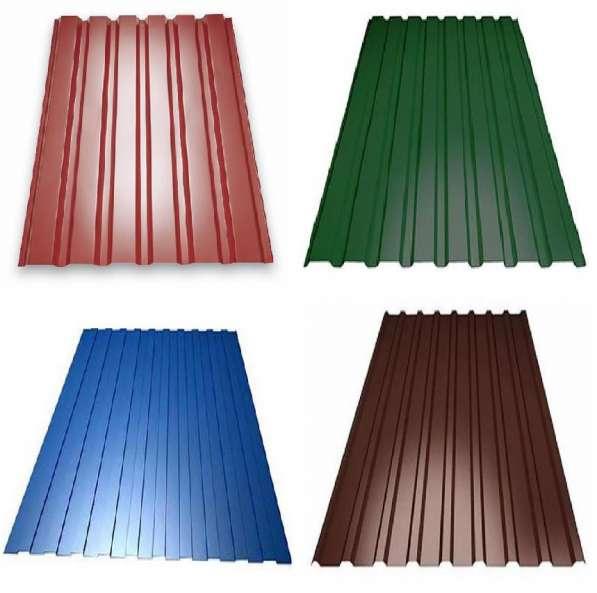 Продаём профлист металлический для заборов и крыши