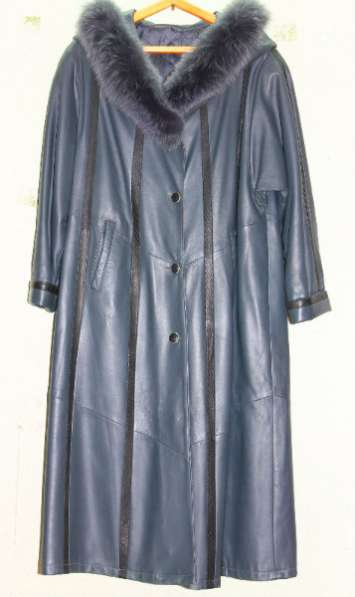 Пальто женское новое кожаное