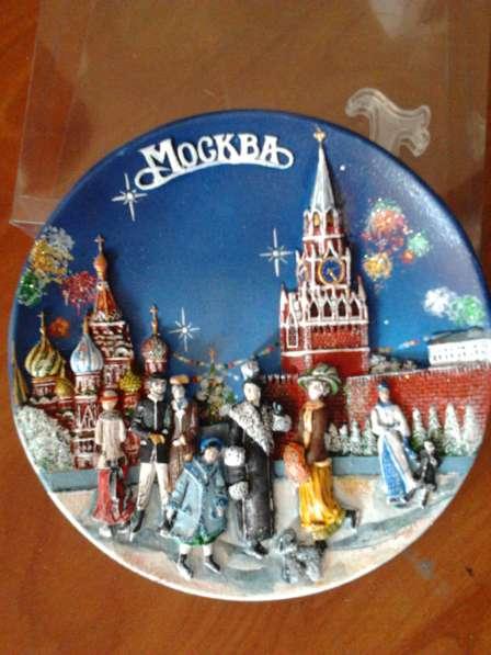 Тарелка сувенирная в ассортименте в Омске