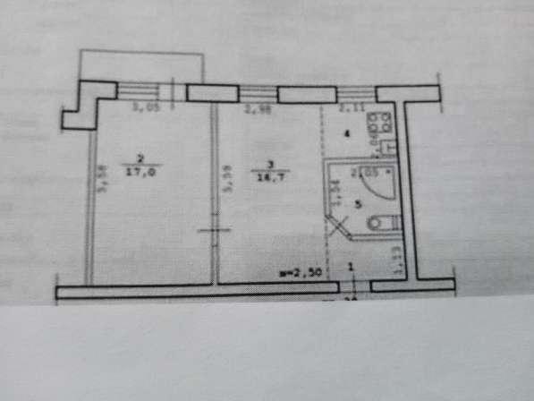 2-к квартира, 45 м2, Двинская 2 Центральный р-н в Волгограде фото 3