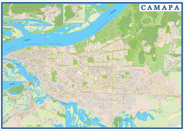САМАРА подробный атлас города в Самаре фото 3