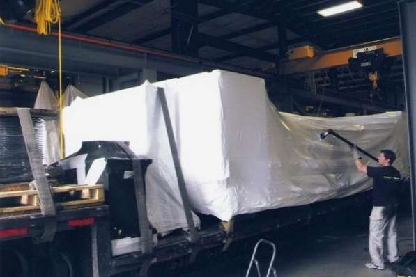 Упаковка негабаритных грузов для транспортировки