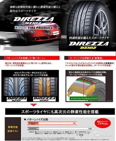 Новые шины Дунлоп 205/60 R15 DZ102