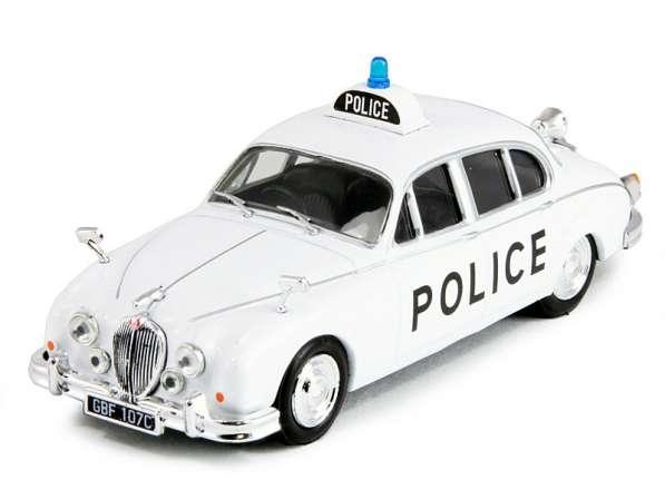полицейские машины мира №3 JAGUAR MARK II 1959