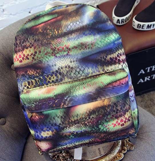 Рюкзак городской Bricks Snake цветной