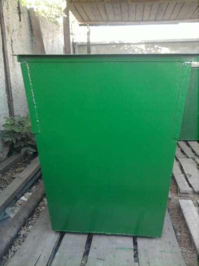Мусорный контейнер Металлический Без крышки