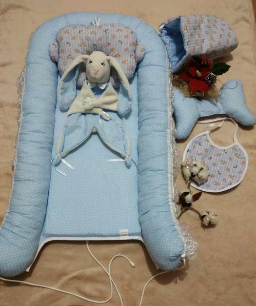 Кокон для новорожденного набор в Краснодаре фото 12