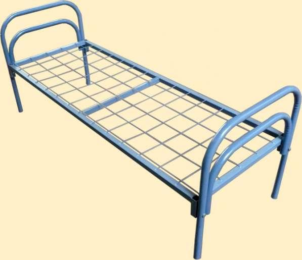 Металлические кровати для лагерей, рабочих, хостелов в Казани фото 7